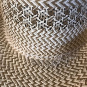 american hat company Accessories - American Hat Company tan straw leather cowboy hat